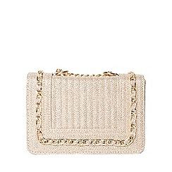 Dorothy Perkins - Gold glitter mini chain bag
