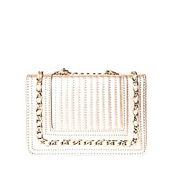 Dorothy Perkins - Rose gold mini boxy cross body bag