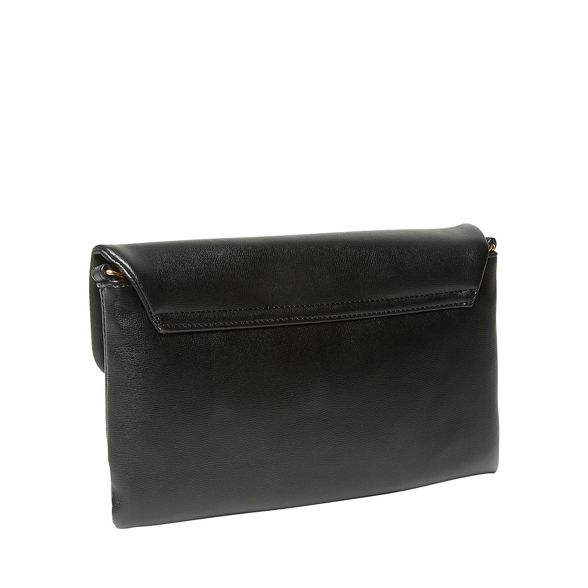 bag Black clutch twist lock Perkins Dorothy XqSOx0w1z