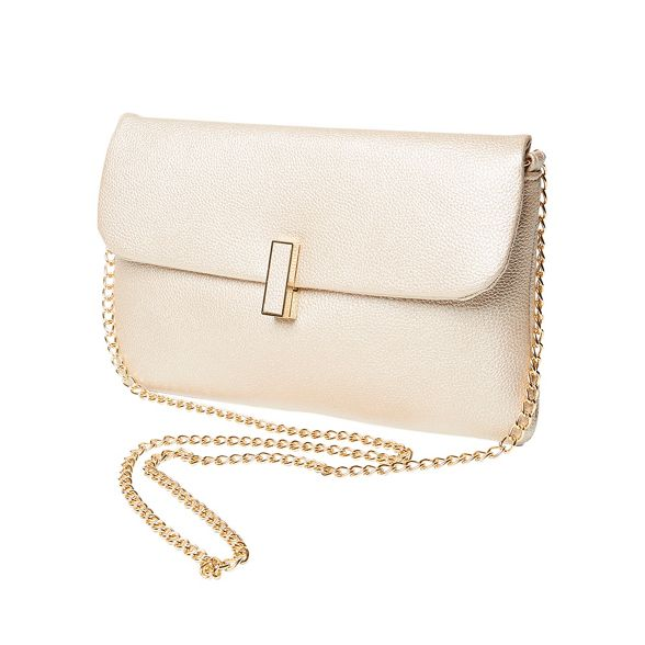 Perkins twistlock Dorothy bag gold clutch Rose 8wxqvdxU
