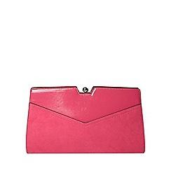 Dorothy Perkins - Pink frame clutch bag