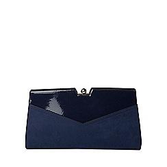 Dorothy Perkins - Navy frame clutch bag
