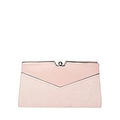 Dorothy Perkins - Mink frame clutch bag
