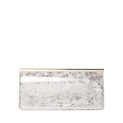 Dorothy Perkins - White bar top clutch