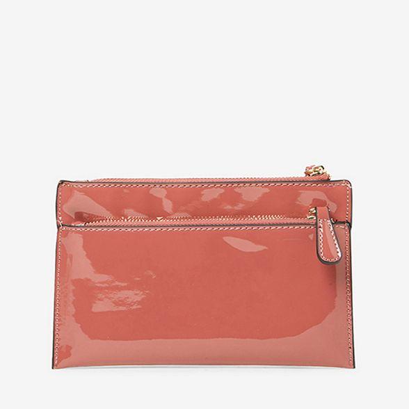 wristlet clutch Rose Perkins Dorothy zip bag double qCIAnwxU