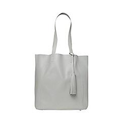 Dorothy Perkins - Grey tassel shopper bag