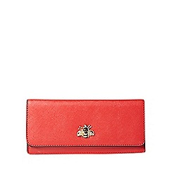 Dorothy Perkins - Red bee studded foldover purse