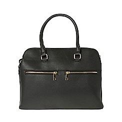 Dorothy Perkins - Black double zip handbag
