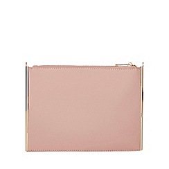 Dorothy Perkins - Rose side bar clutch bag