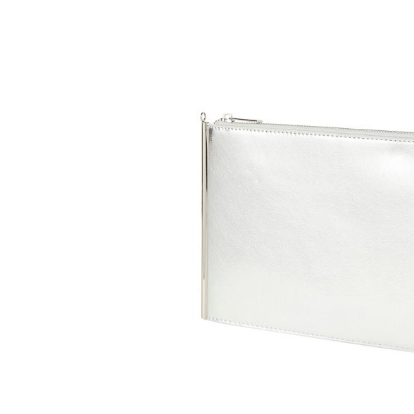Dorothy side shimmer Perkins clutch bag bar Silver Tx4wTqUr6