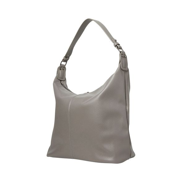 Grey Dorothy hobo bag double zip Perkins ZZTw5qO