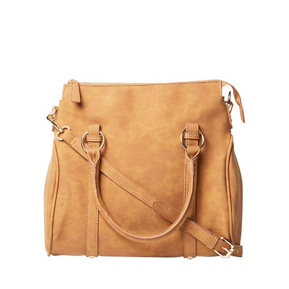 Tan bowler Perkins tote ring bag Dorothy YF6nA
