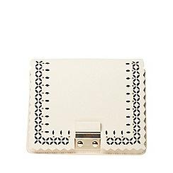 Dorothy Perkins - White lasercut boxy crossbody bag