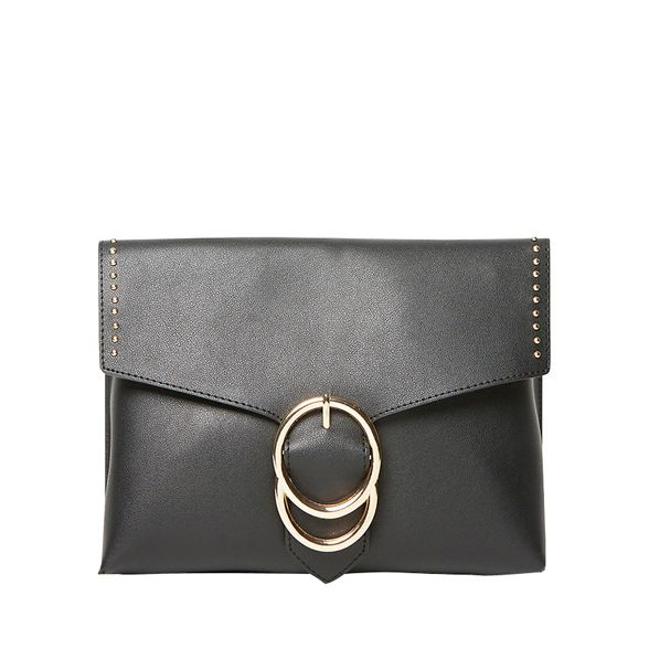 stud Perkins Dorothy bag clutch ring double Black UfSwI