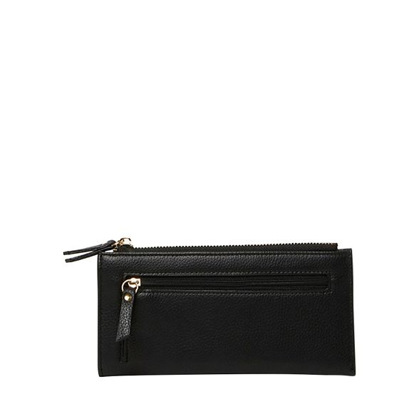 purse Black zip Dorothy Perkins stud top B85Anz