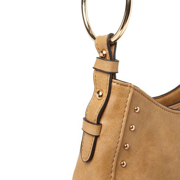 saddle Dorothy studded bag Tan body cross Perkins hoop 6BxBqwIr