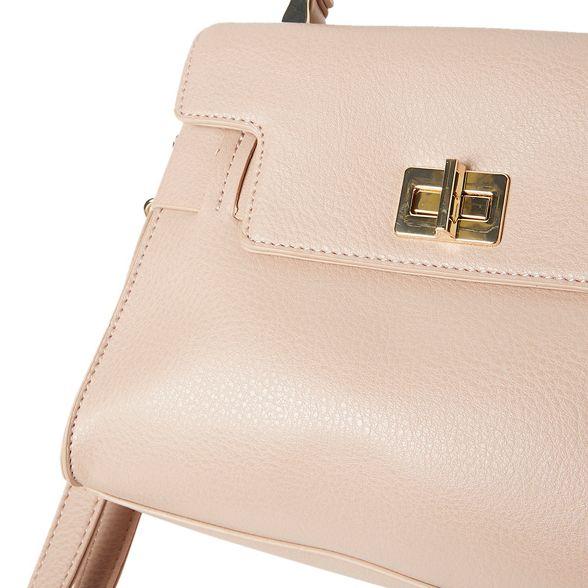 Perkins twist tote bag belt Blush Dorothy 8x6wAqB6