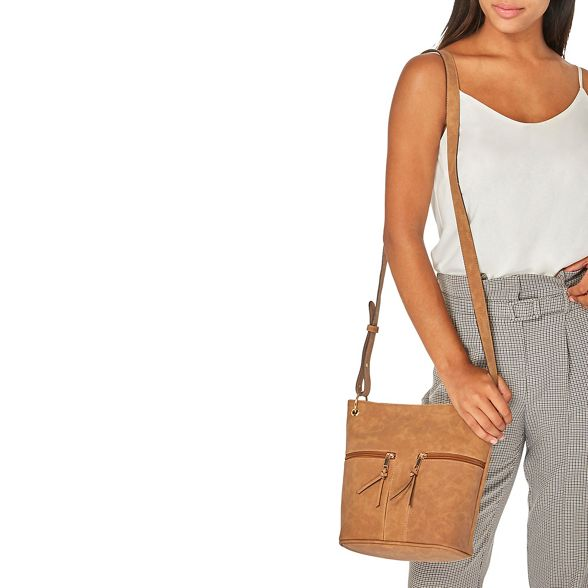double cross ring body bucket bag Perkins Dorothy Tan Pwqx8c1
