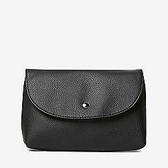 Dorothy Perkins - Black curve stud pouch crossbody bag