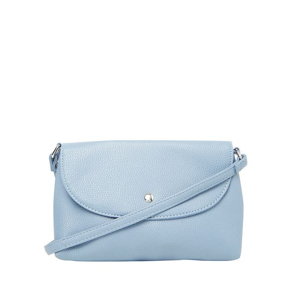 pouch Blue cross stud curve Dorothy Perkins body bag ICAqwgg