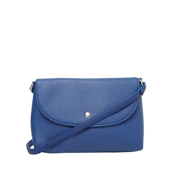 Dorothy Royal blue body stud cross Perkins bag curve ORfaSq