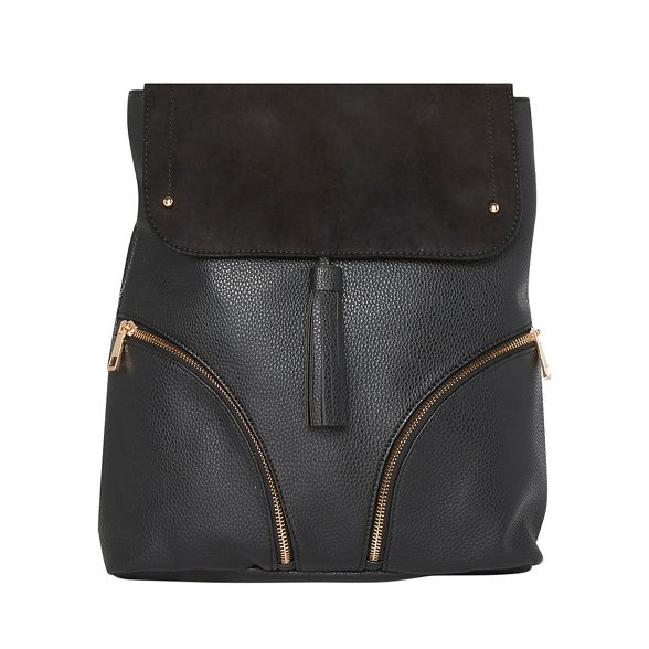 detail backpack Dorothy Perkins tassel Black tqZz4A