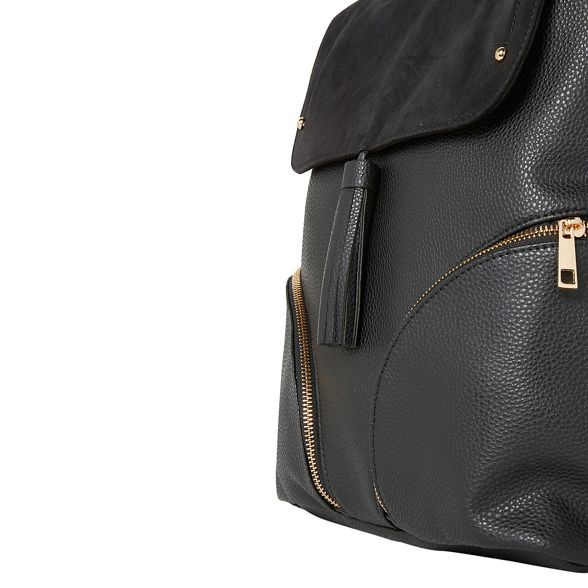 Black Perkins backpack detail Dorothy tassel Tw5xpSYY