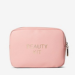 Dorothy Perkins - Pink slogan makeup bag