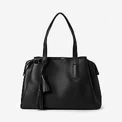 Dorothy Perkins - Black tassel work wear tote bag