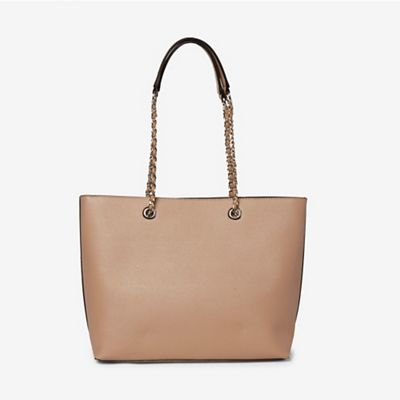 Dorothy Perkins   Taupe Chain Handle Shopper Bag by Dorothy Perkins