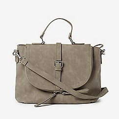 Dorothy Perkins - Grey Casual Buckle Crossbody Bag