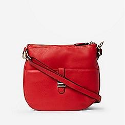 Dorothy Perkins - Red Double Bar Messenger Bag