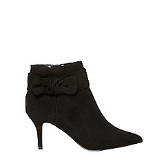 Dorothy Perkins - Black 'aloha' ankle boots