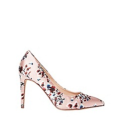 Dorothy Perkins - Blush floral emily court shoes