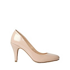 Dorothy Perkins - Nude claudia court shoes