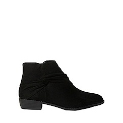 Dorothy Perkins - Black marilyn ankle boots