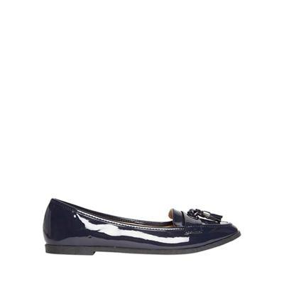 Dorothy Perkins - Navy 'larissa' tassel loafers