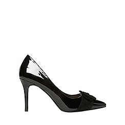 Dorothy Perkins - Black Giovanna court shoes