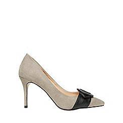Dorothy Perkins - Grey giovanna court shoes