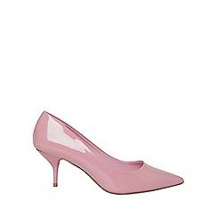 Dorothy Perkins - Pink eve kitten heel court shoes