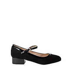Dorothy Perkins - Black elise court shoes