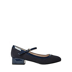 Dorothy Perkins - Navy elise court shoes