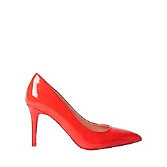 Dorothy Perkins - Red electra court shoes