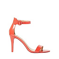 Dorothy Perkins - Red bounce heeled sandals