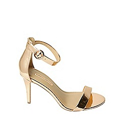 Dorothy Perkins - Rose gold bounce heeled sandals