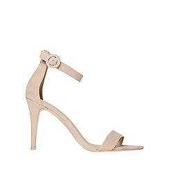 Dorothy Perkins - Blush bounce heeled sandals