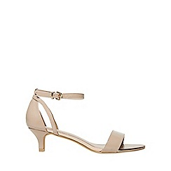 Dorothy Perkins - Nude sunrise heeled sandals