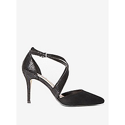 Dorothy Perkins - Black giana court shoes