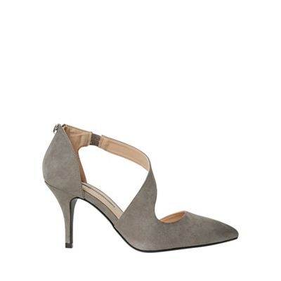 Dorothy Perkins - Grey ella court shoes
