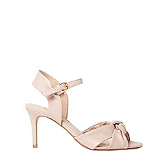 Dorothy Perkins - Nude breeze heeled sandals